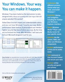 Windows 7 Tweaks by Steve Sinchak